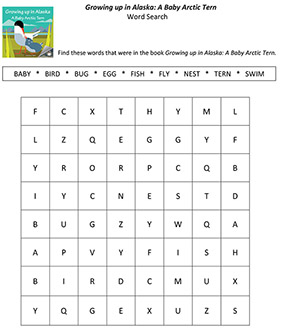 Word search for younger children